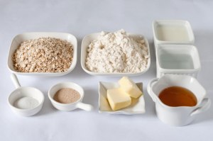 Honey-Oat-Bread-Ingredients